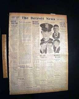 1925 GENNA BROTHERS Gangster War Chicago OLD Newspaper