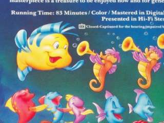 The Little Mermaid VHS rare banned cover art