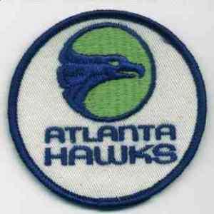 1970S ATLANTA HAWKS NBA BASKETBALL DEFUNCT LOGO PATCH