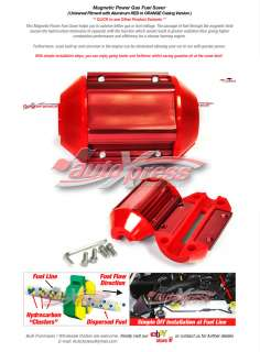 Magnetic Gas Fuel Saver UNIVERSAL For ALL Trucks & Cars