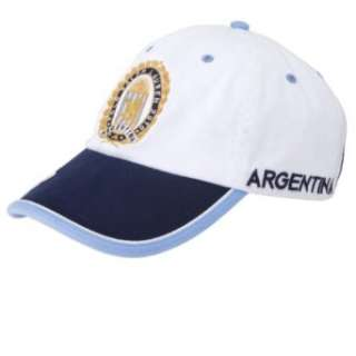Polo Ralph Lauren Argentina Baseball Cap Hat White/Navy Clothing