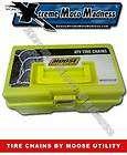 MOOSE UTILITY ATV ICE TIRE CHAINS 10 VBAR SET M9160010