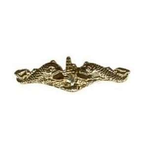 Large Navy Submarine Badge/Hat Pin Gold Finish Everything Else