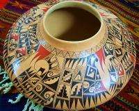 This is a sensational museum quality, authentic hand coiled Hopi