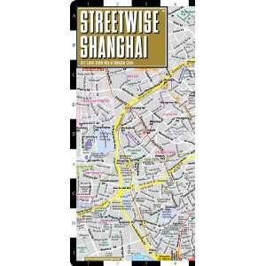 Streetwise Shanghai Map   Laminated City Center Street Map of Shanghai