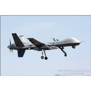 MQ 9 Reaper, Predator Drone Variant   24x36 Poster (p2