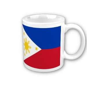 Philippines Flag Coffee Cup
