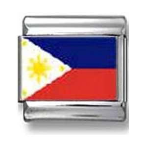 Philippines Flag Italian charm