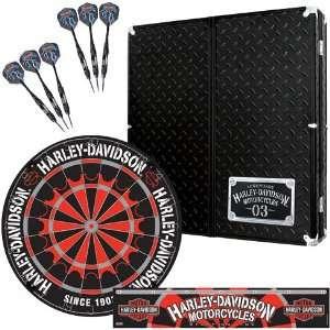 Harley Davidson Diamond Plate Cabinet Set