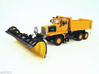 Oshkosh Snow Plow Truck   3 Axle YELLOW 1/50 Sword