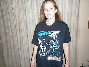George Strait T shirt Concert Tour XL 1992
