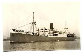 J1978 TRANSPORTATION SHIPS MS KOTA GEDE ROTTERDAM LLOYD