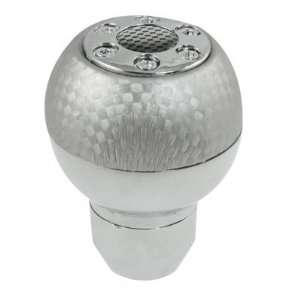 Car Stainless Steel Body Ball Head Gear Shift Lever Knob Automotive
