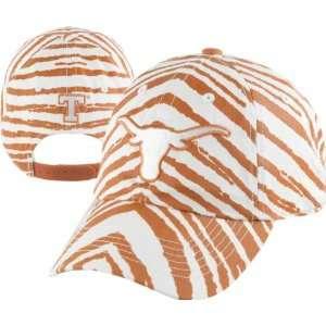 Texas Longhorns Orange Zubaz Smash Adjustable Hat Sports