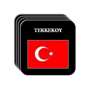 Turkey   TEKKEKOY Set of 4 Mini Mousepad Coasters