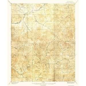 USGS TOPO MAP TUJUNGA QUAD CALIFORNIA (CA) 1897