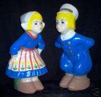 Dutch Girl & Boy Concrete Garden Statue Ornament Decor