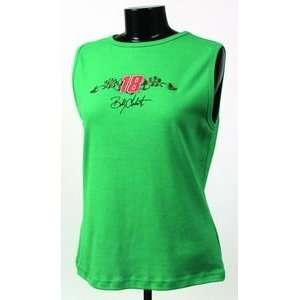 Bobby Labonte MAKE ME AN OFFER Green Chase Authentic Ladies Tank Top