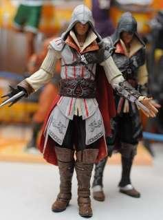 100% brand New NECA Assassins Creed 2 EZIO Black & White Figure