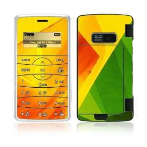 Colored Leaf Decorative Skin Cover Decal Sticker for LG enV2