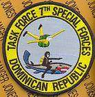 Special Forces Airborne TF DOM REP ODA pocket patch