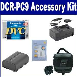 com Sony DCR PC9 Camcorder Accessory Kit includes DVTAPE Tape/ Media