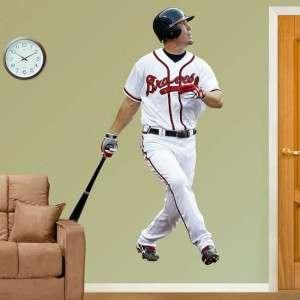Chipper Jones Atlanta Braves MLB Fathead Wall Graphic