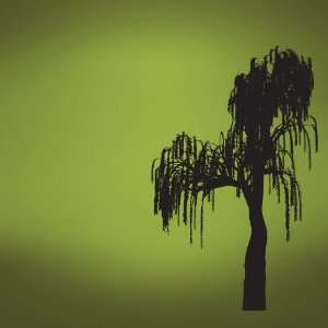 Vinyl Wall Decal Sticker Hanging Tree Moss