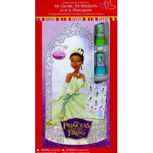 Disney Princess and the Frog Valentine Cards for Kids (L