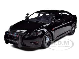 FORD POLICE INTERCEPTOR CAR CONCEPT UNMARKED BLACK 124
