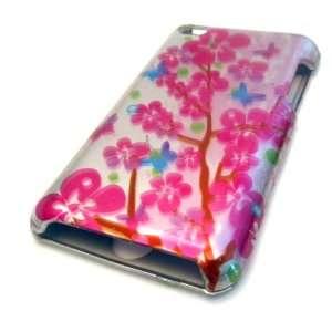 Apple Ipod Touch 4 4th Gen Pink Cherry Cartoon Blossom