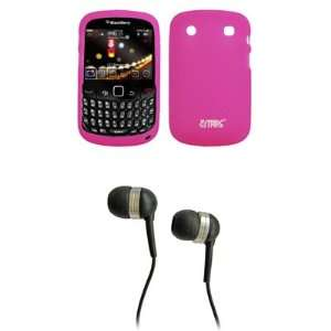 EMPIRE Hot Pink silicone Skin Case Cover + Stereo Hands