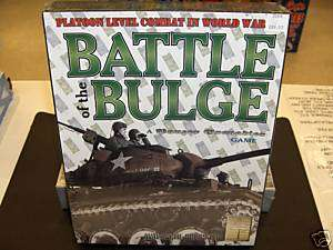 AVALANCHE PRESS BATTLE OF THE BULGE WWII GAME