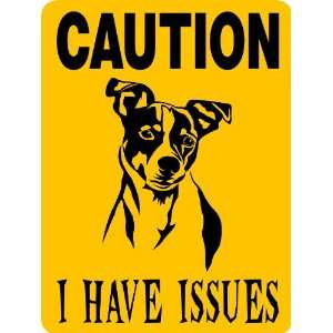 JACK RUSSELL DOG SIGN ALUMINUM