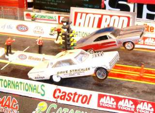 DRAG STRIP DEMONS MOPAR DAVE STRICKLER 1965 HEMI DODGE CORONET NHRA A