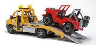 Bruder Toys Mercedes Benz Sprinter Wrecker Car Truck