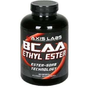 Axis Labs BCAA Ethyl Ester, Capsules, 180 capsules Health