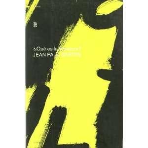 Que es la literatura?/ What is Literature (Ensayo