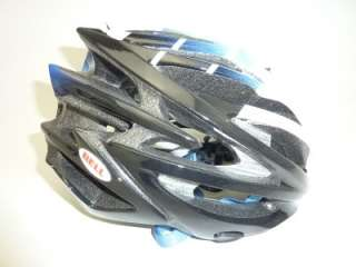 Bell Volt road race Saxo Bank White and Blue bicycle helmet MEDIUM M