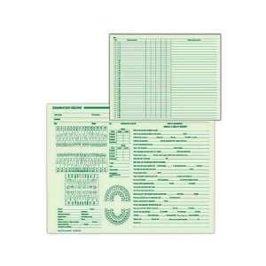 record form   Ledger stock dental examination record form. Office