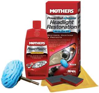 Mothers Powerball 4 Lights Headlight Restoration Kit