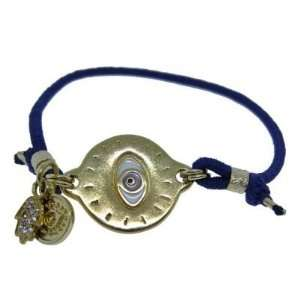Beautiful Blee Inara 18k Gold Plated Blue Eye of Protection Charm