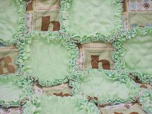 BABY BOY ~ funny and sweet baby boy rag quilt