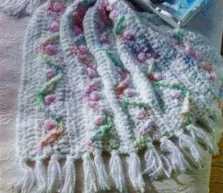 3B CROCHET PATTERN FOR Rosebud Spirals Baby Afghan