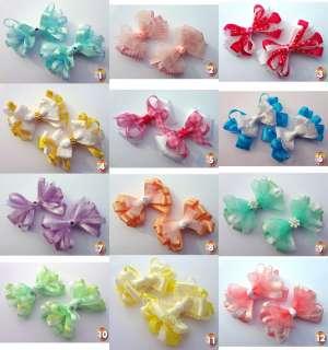 Baby/Toddler/Girl ~ Hair Bow/Clips ~ Easter ~ NoSlip ~ Clips ~ 1 3/4