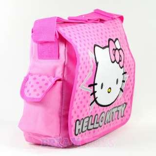 Sanrio Hello Kitty Stars and Polka Dot Large Messenger Bag   Backpack
