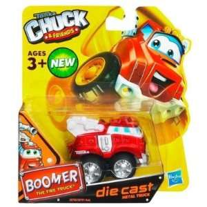 Tonka Chuck & Friends   Boomer The Fire Truck   Die Cast Metal Truck