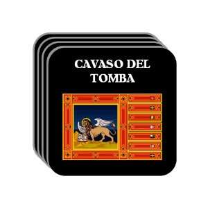 Region, Veneto   CAVASO DEL TOMBA Set of 4 Mini Mousepad Coasters