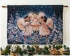 MARIAH CAREY CHRISTMAS CHERUBS ANGELS FIBER OPTIC WALL