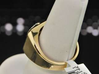 MENS YELLOW GOLD BAGUETTE DIAMOND WEDDING BAND RING .4C